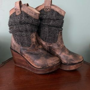 Bedstu wedge boots
